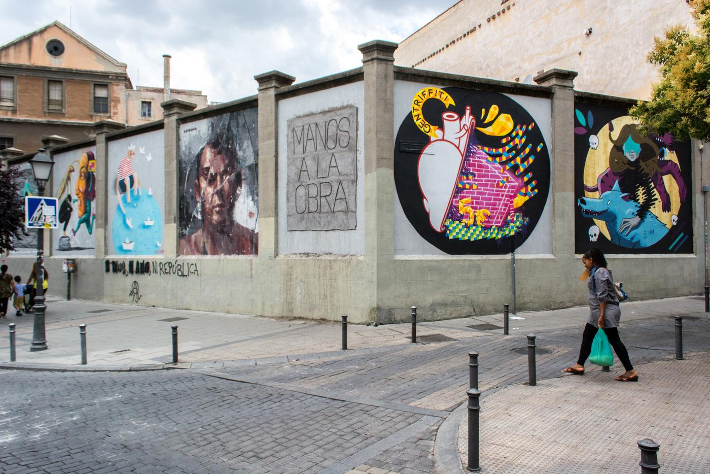 El mejor arte urbano en Madrid para el año 2016