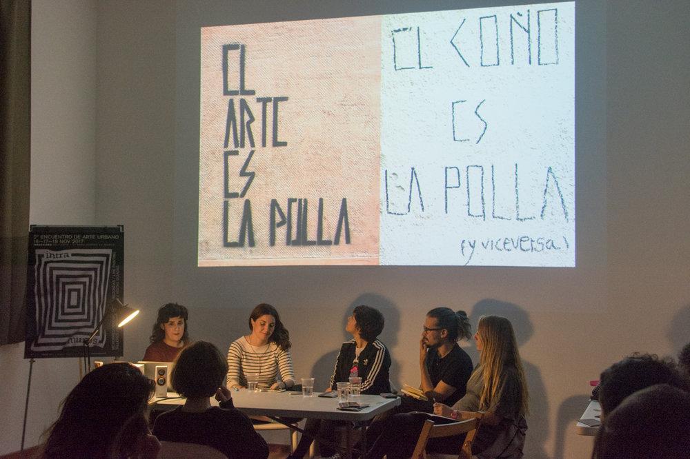 Mujeres en un movimiento -mayoritariamente- masculino  Álvaro León / Julieta XLF / Nerea González Calvo / Raquel Congosto