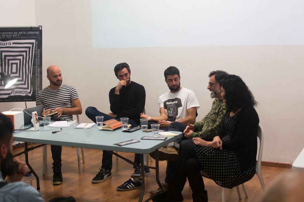 Arte urbano y arte contemporáneo: fuera de la endogamia Ampparito / Santiago Morilla / Sue975 / Susana Blas / Georg Zolchow