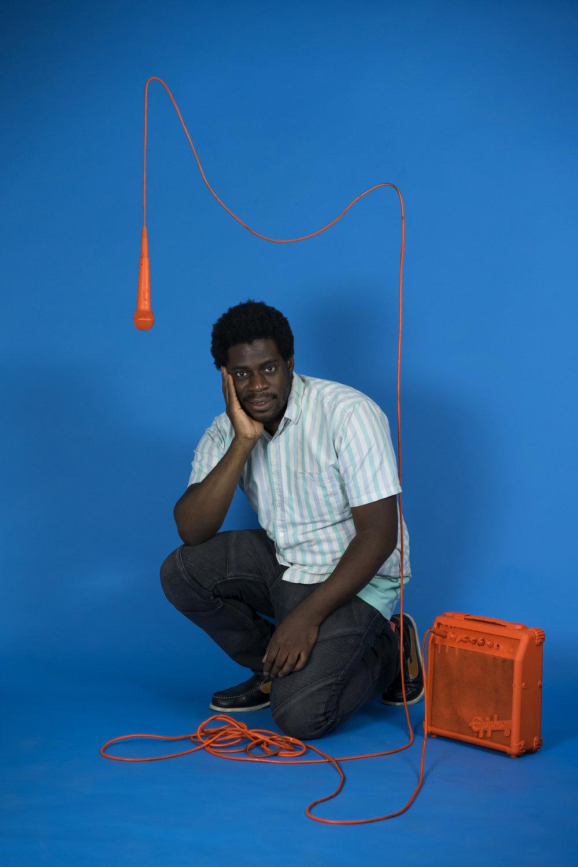 model:Nnamdi Ogbonnaya for Hooligan Magazine