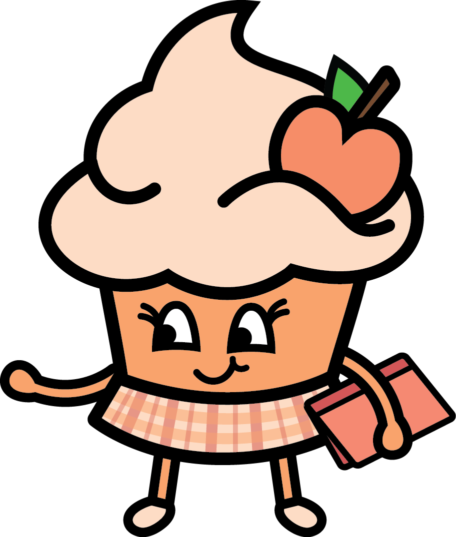 Perfect Peach - The super smart bookworm