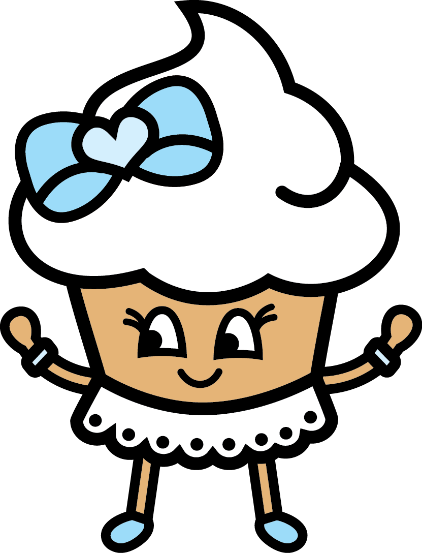 Veronica Vanilla - The sweetest cupcake who is friends with everyone
