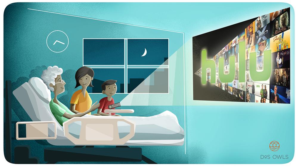 Start a movie night anywhere!