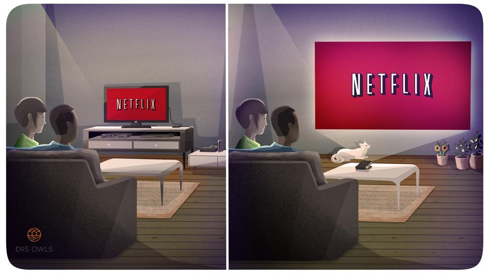 Watch Netflix on ODIN
