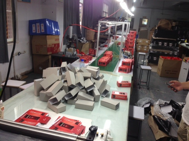 Packaging Box Factory (this is the line for small orders like ours)