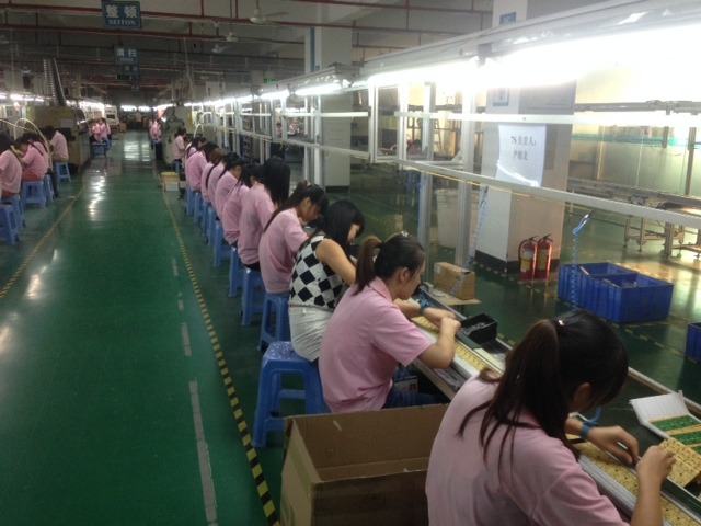 Power Adapter Assembly Factory Line