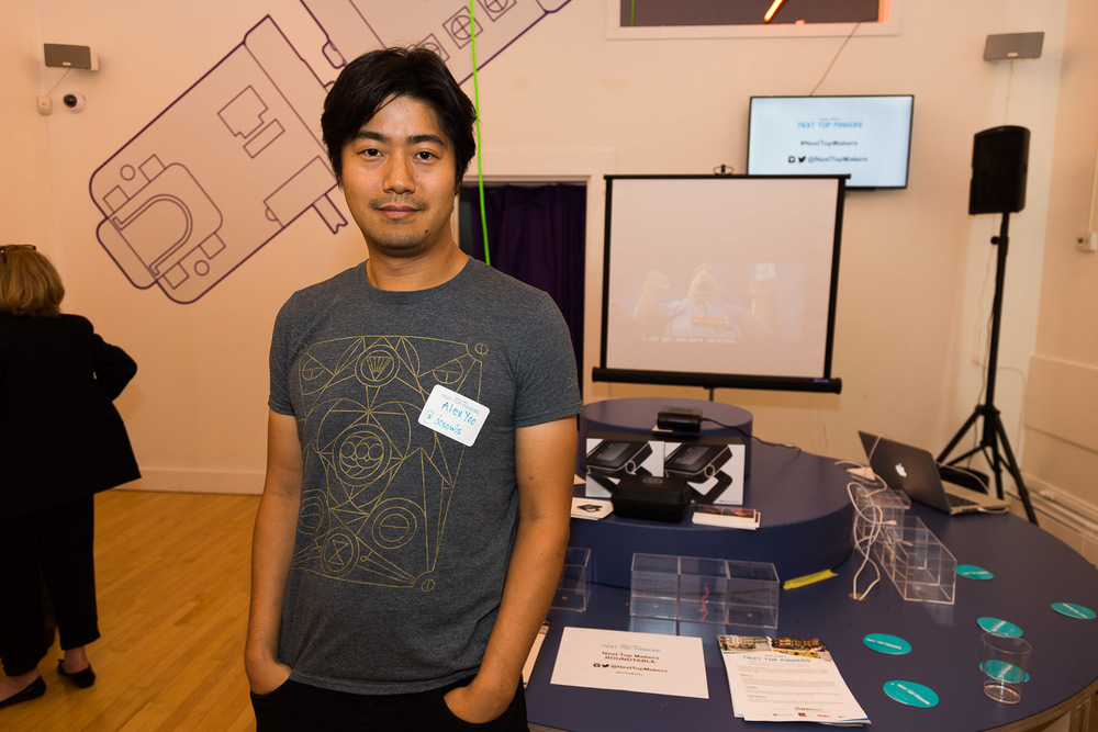 Sep 30 Showcasing ODIN at Littlebits in New York at Next Top Makers Event