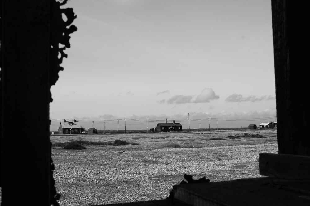 Though the window on Dungeness