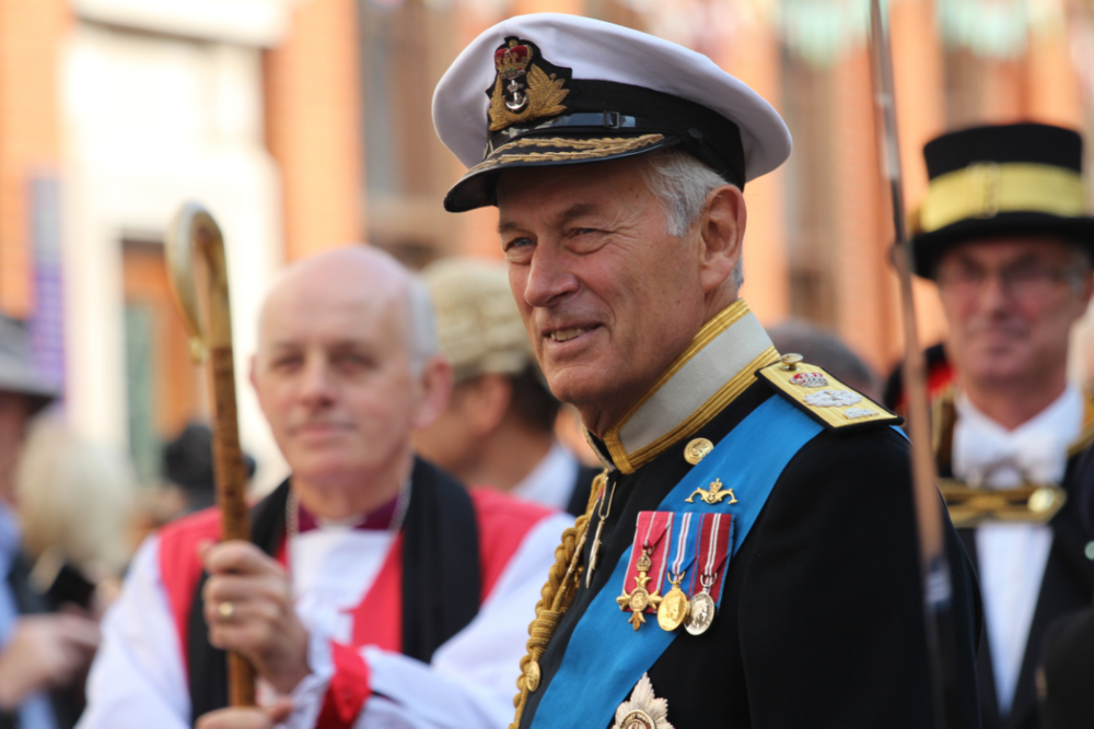 Lord Boyce, KG, GCB,OBE DL