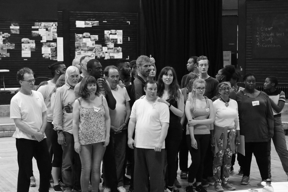OLD VIC NEW VOICES - RISE REHERSAL 2016 - TAKE 1