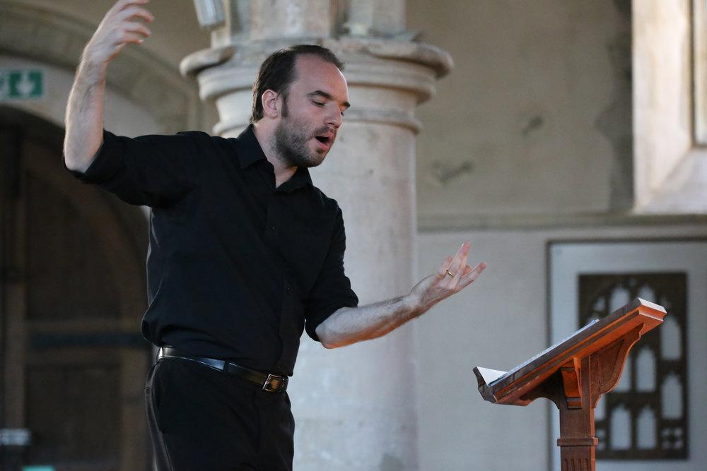 Conductor & 2018 JAM curator Daniel Cook