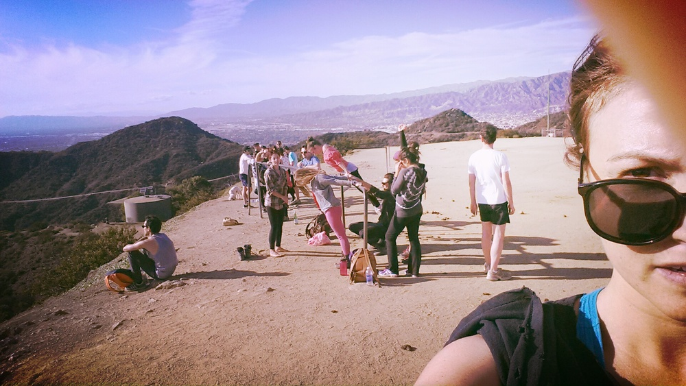 Completely in love with my new Sunday ritual, hiking Griffith Park and getting weird with a whole bunch of fantastic humans. Dearest Olivia activities coordinates the whole thing and it's a real real fun.