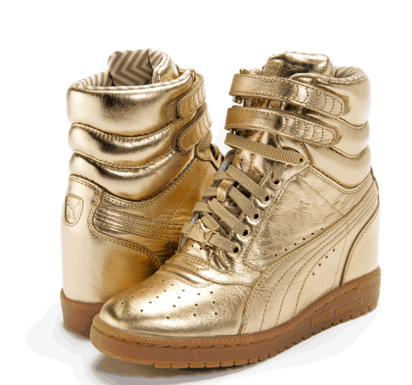 The PUMA x Rime Luxe Sky Wedge, $130