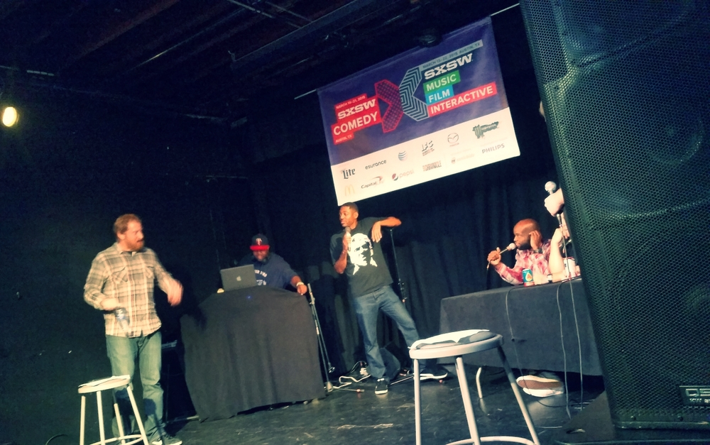 Most Meerkat worthy: Roast Battle @ SXSW Comedy