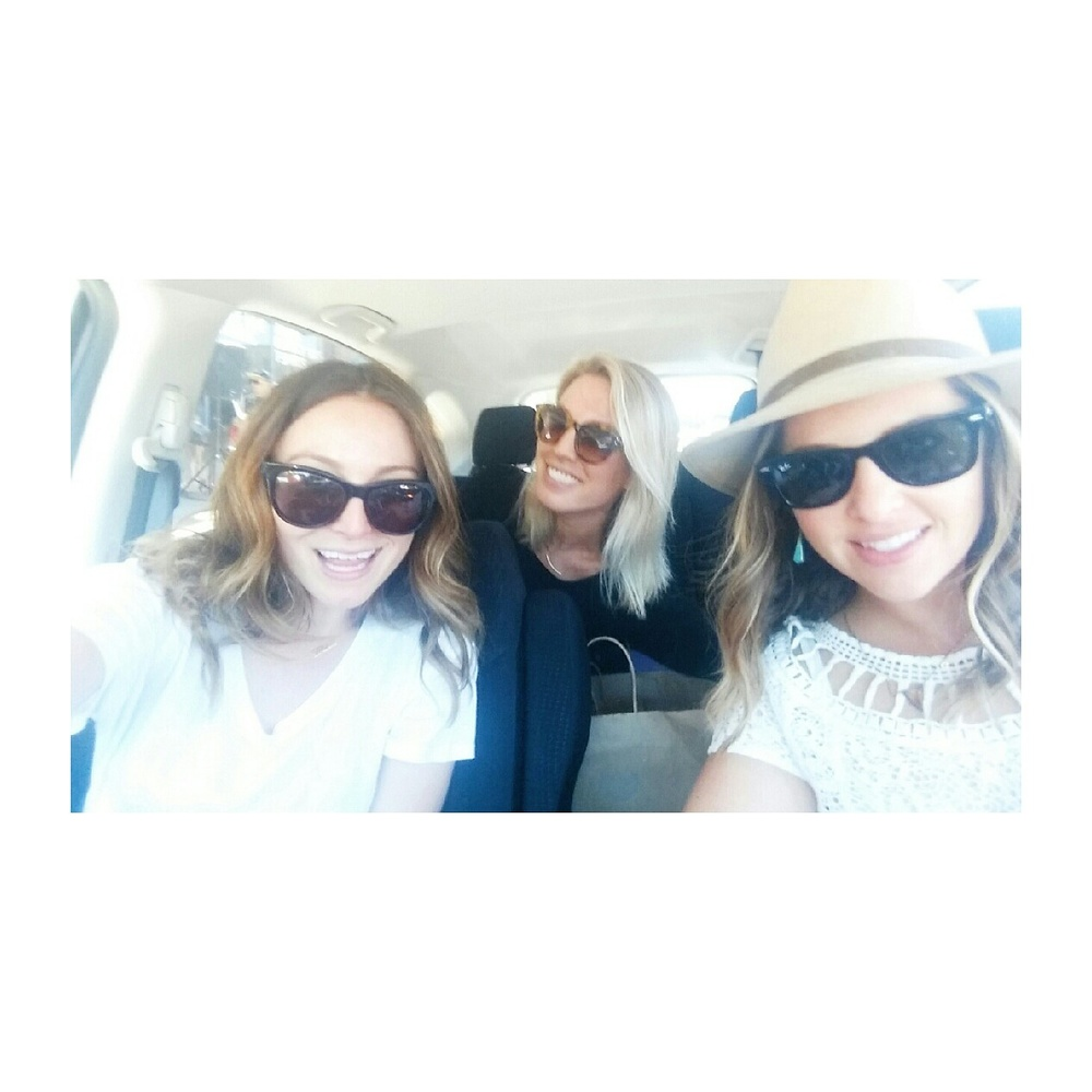Most Fun Shopping pals: Cara C. + Sarah W.