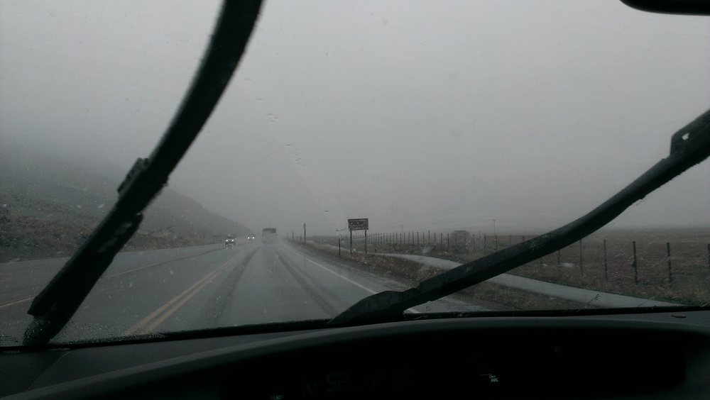 Weather leaving Jackson