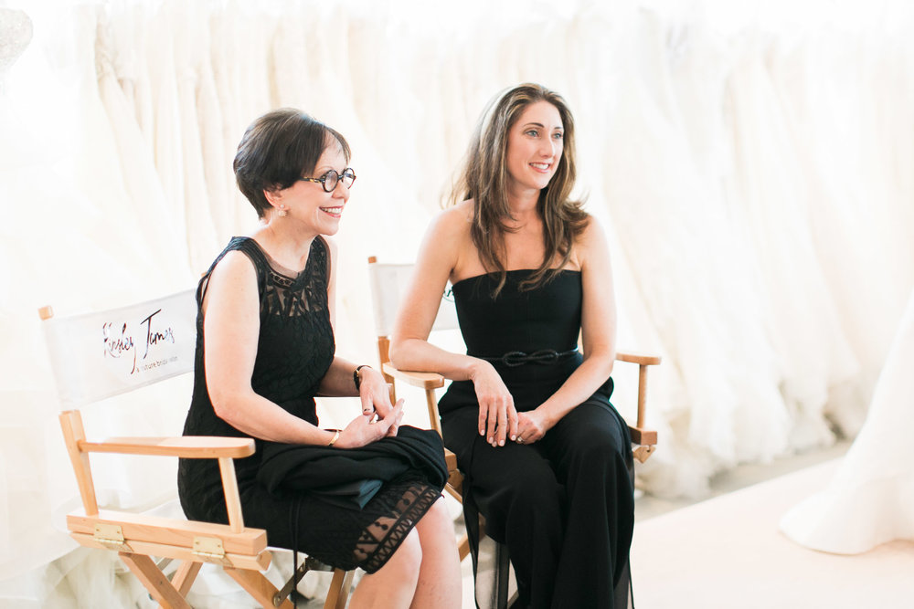 Designer Anne barge (left) and Anne Barge Owner and President (right)