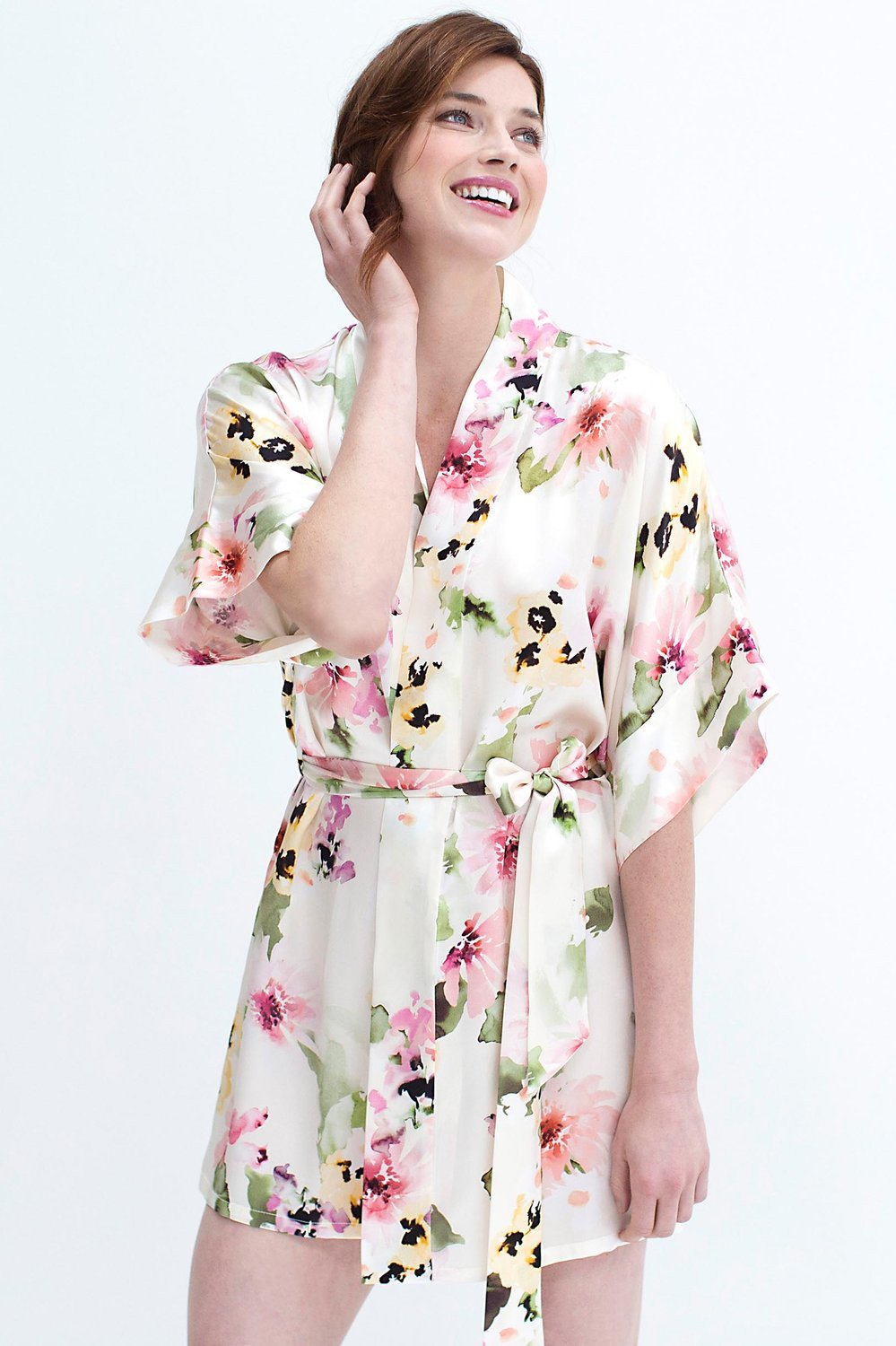WATERCOLOR DREAMS ROBE