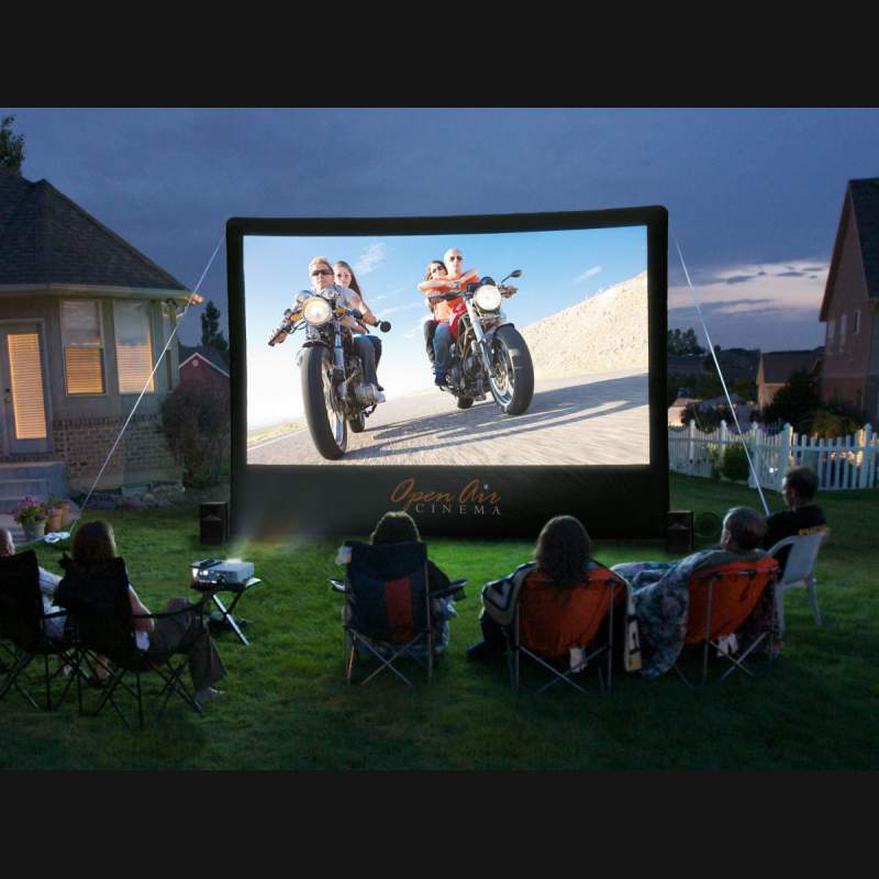 Premier your Wedding Film & Host a party on a 16ft movie screen with speakers
