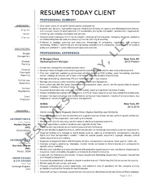 Rsums today professional modern resume professional modern resume thecheapjerseys Images