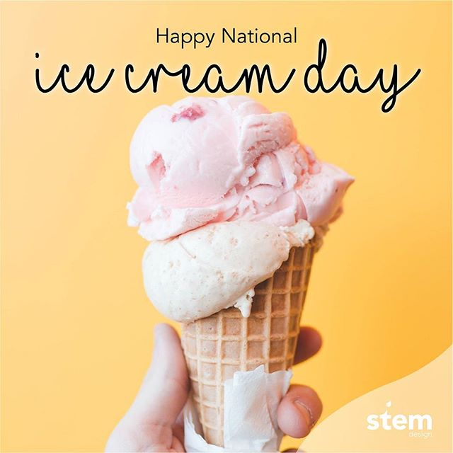 Finally starting to feel like summer here in Montreal! ☀️ • Happy #NationaliceCreamDay ! 🍨