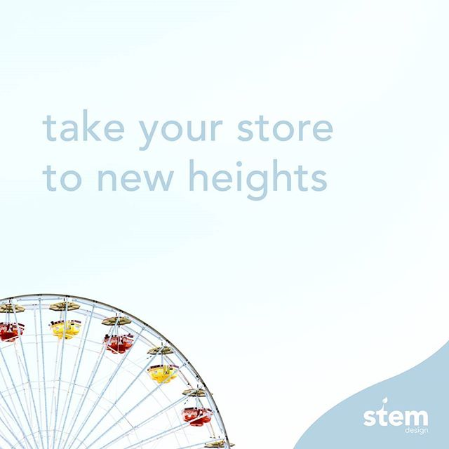 Improve your online store with help from the Experts! 😉 Call us today to find out how you can #GrowWithStem 🌱