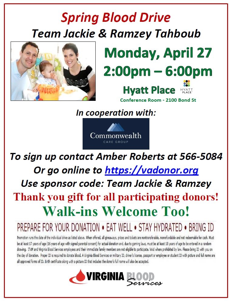 Please consider joining us for this important cause!