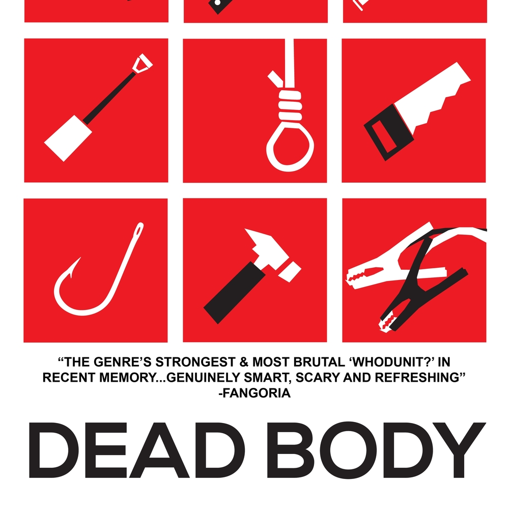 DEAD BODY  Press kit, poster creation, publicity, and social media support for festival run
