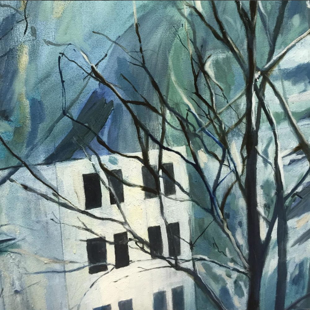 heidi zito oil painting blue