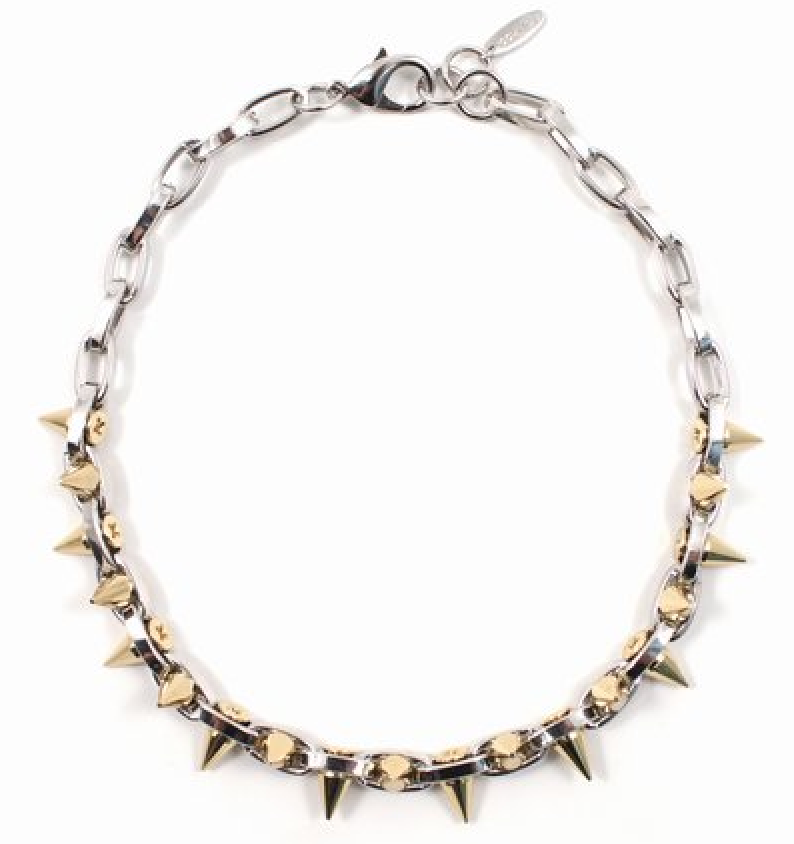 Joomi Lim Double Row Spike Choker $210