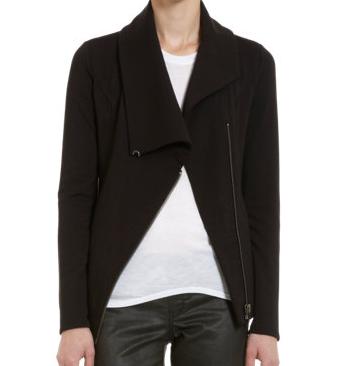 HELMUT Zip Front Sweatshirt $230