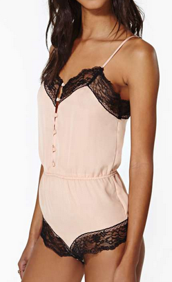 Nasty Gal All Yours Teddy $58