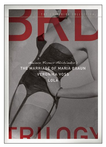 The Marriage of Maria Braun / Veronika Voss / Lola DVD Trilogy $90