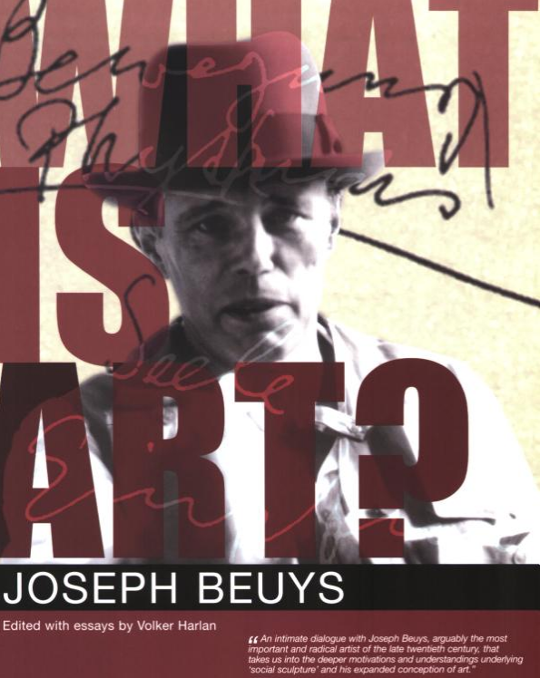 What Is Art?: Conversation with Joseph Beuys $20