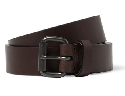 ALVARO LEATHER BELT $395
