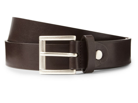 ALFRED DUNHILL LEATHER BELT $230