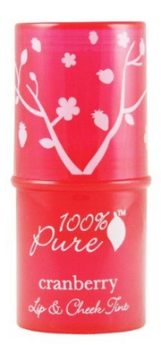 100% Pure Cranberry Lip & Cheek Stain $17