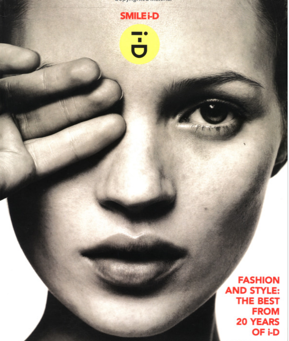 Cover by David Sims for Smile ID: Fashion and Style: the Best from 20 Years of ID $17