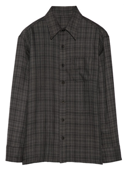 THE ELDER STATESMAN Plaid cashmere shirt $1,730