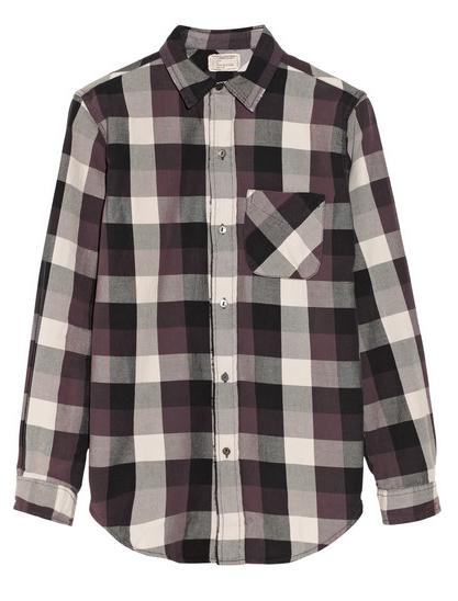 CURRENT/ELLIOTT The Prep School plaid cotton shirt $200