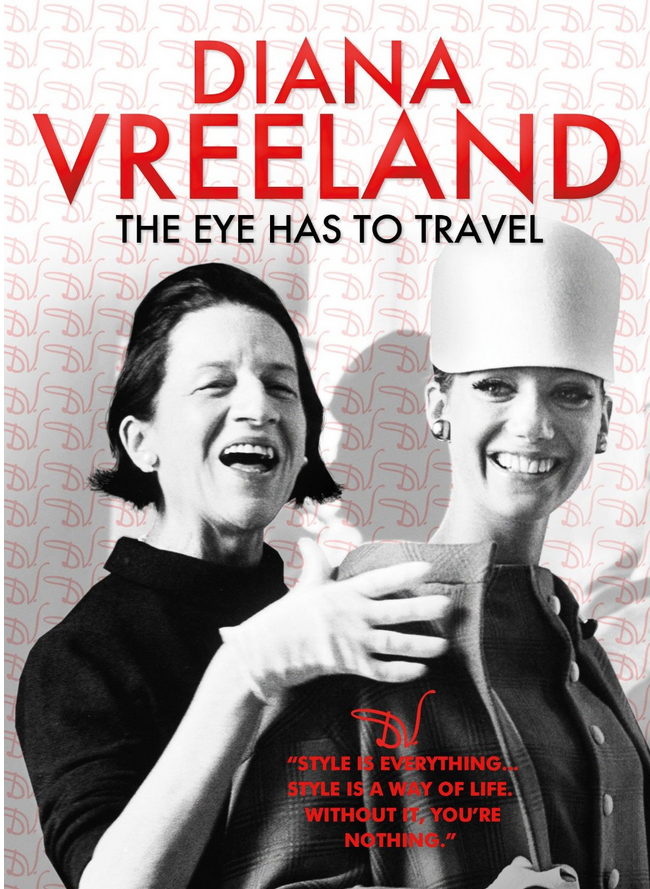 Diana Vreeland Documentary The Eye Has To Travel DVD $18
