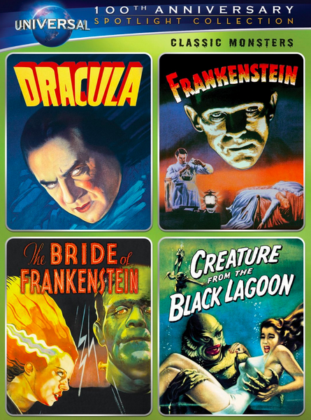 Classic Monsters Spotlight Collection $13