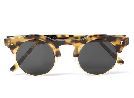 Illesteva Round Frame Sunglasses $300