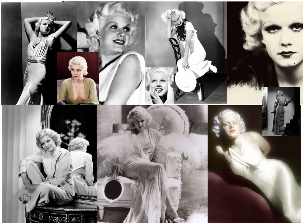 Jean Harlow Collage