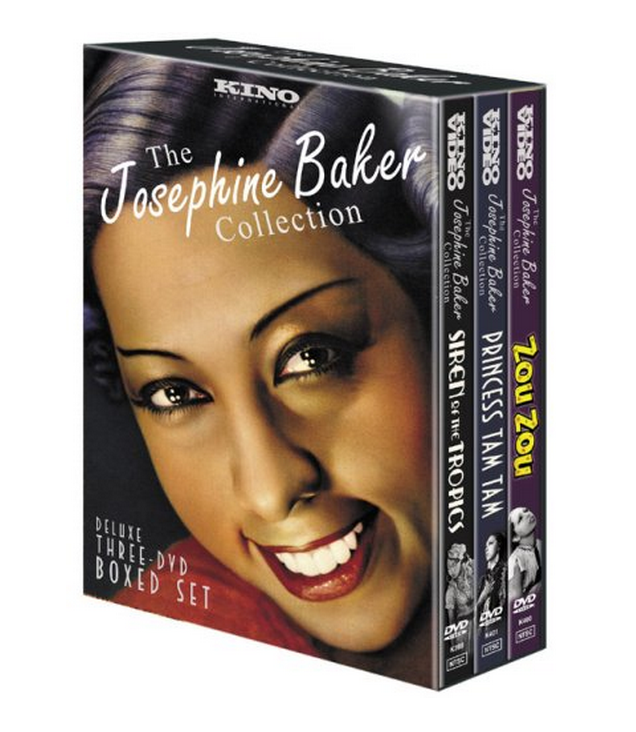 Josephine Baker Collection DVDs $35