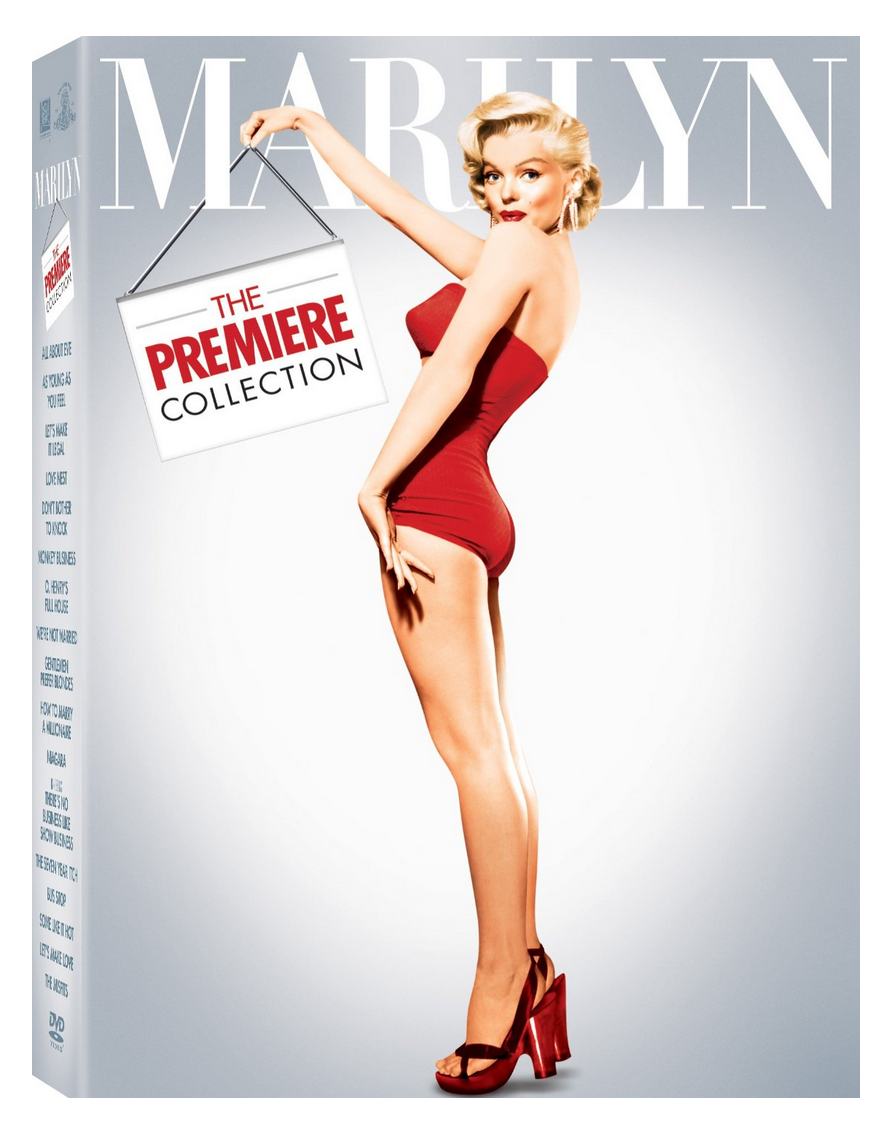 Marilyn The Premiere Collection 17 DVDs $47