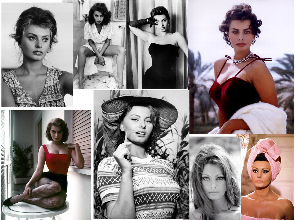 Sophia Loren Collage