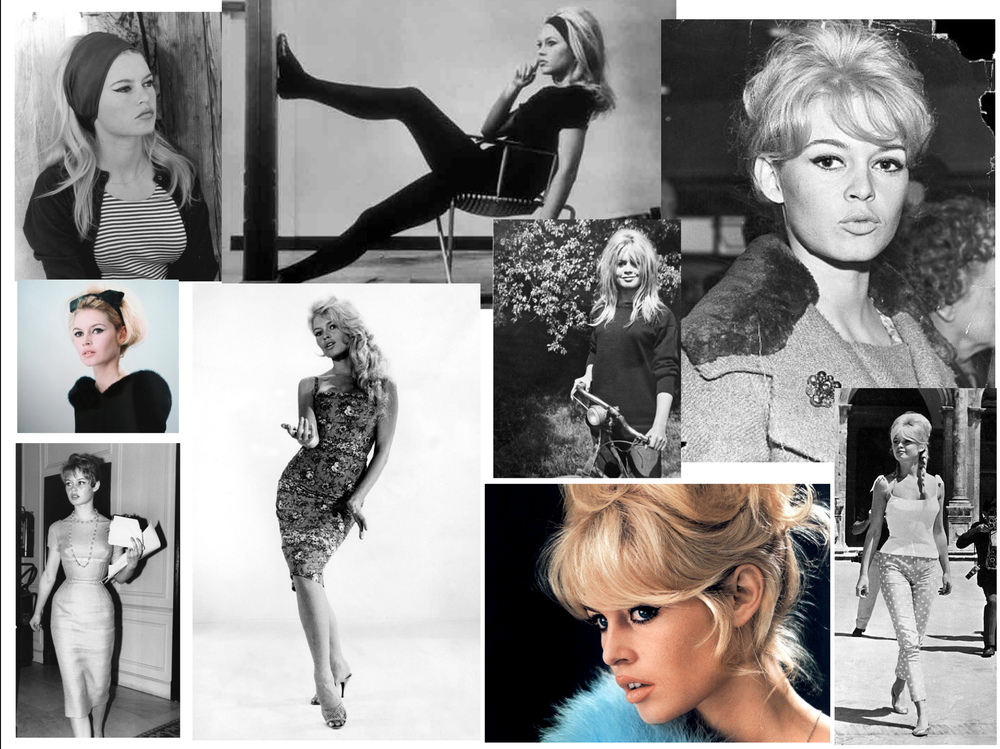 Brigitte Bardot Collage