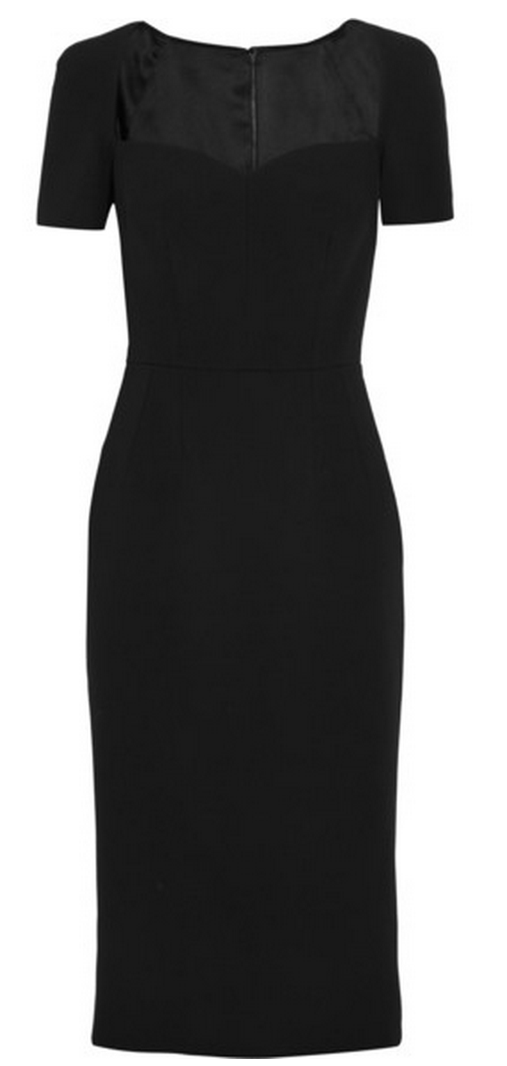 Dolce & Gabbana Crepe Dress $2,695