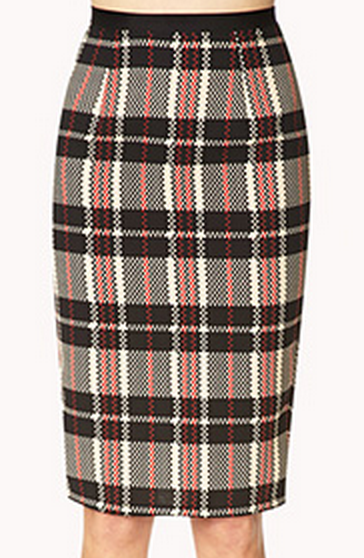Forever 21 Retro Plaid Skirt $17.80